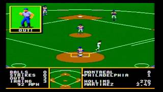 Episode 3 Tony LaRussa Baseball Sega Genesis
