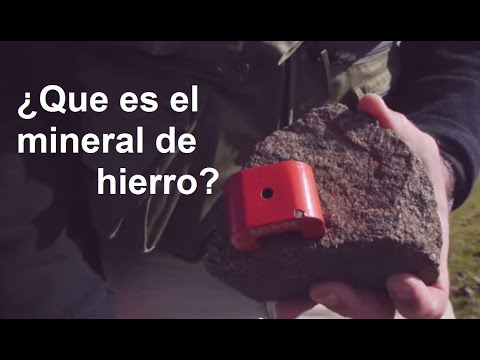 ¿Qué es el mineral de hierro?