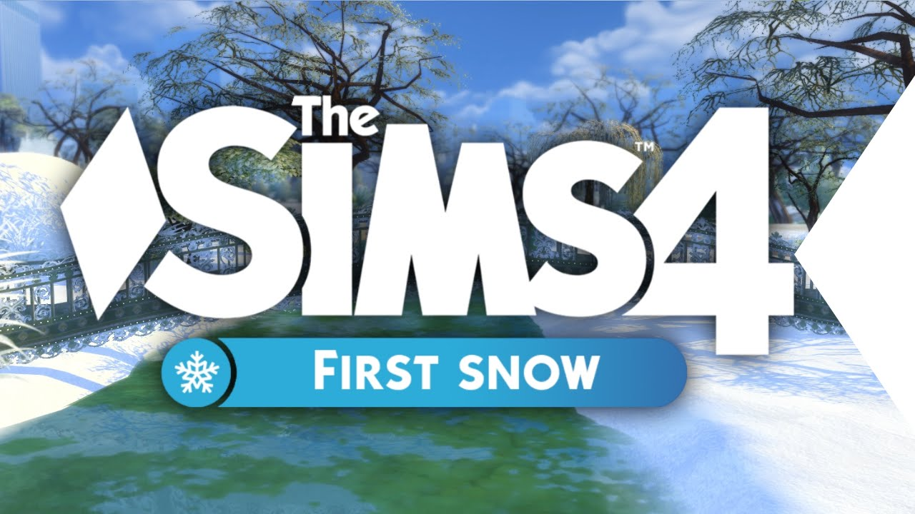 the sims 4 first snow official trailer youtube
