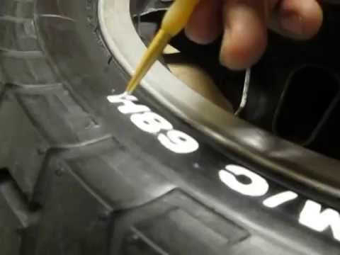 painting my tires letters