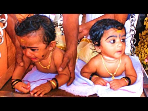 Annaprashana Ceremony / Choroon - Baby Introduced to Solid food