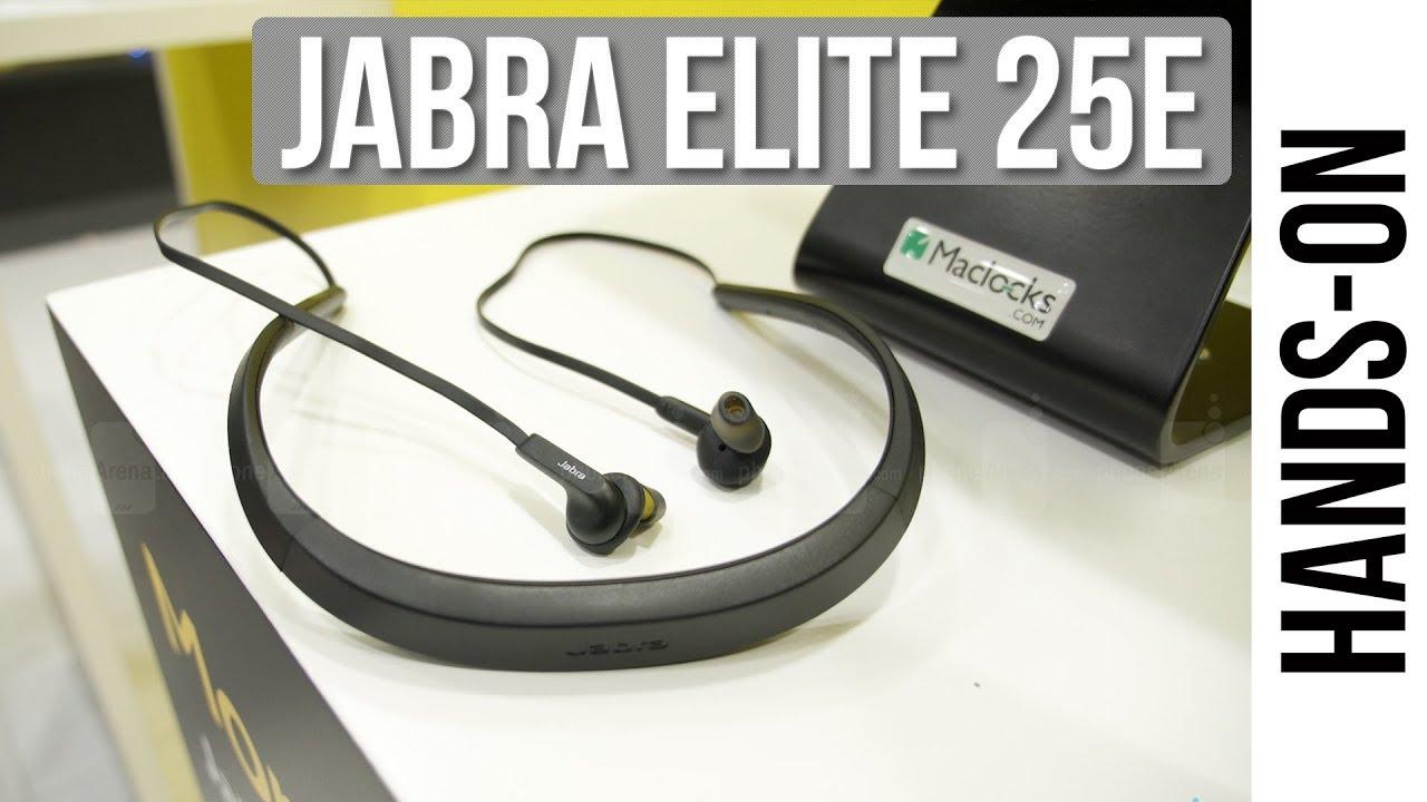 Jabra Elite 25e Hands On Youtube