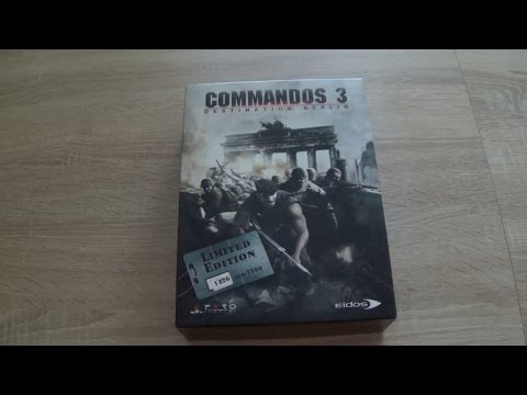 Unboxing #69 - Commandos 3: Destination Berlin - Collector's Edition / Edycja Kolekcjonerska