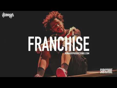 """FREE J Cole Type Beat Piano Smooth Chill Trap Hip Hop Instrumental / """"Franchise"""" (Prod. Homage)"""