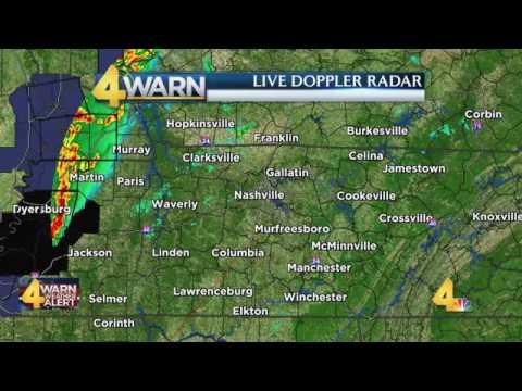Nashville Tornado Coverage: 3/1/17 on WSMV