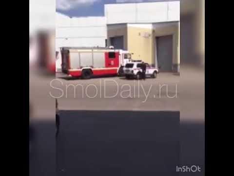 Эвакуация торгового центра в Смоленске