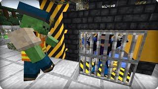 Что с этим полицейским? [ЧАСТЬ 4] Зомби апокалипсис в майнкрафт! - (Minecraft - Сериал))