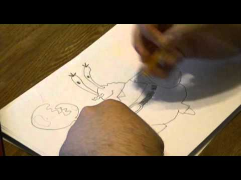 how to draw mr krabs video