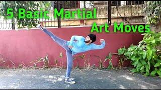 5 Basic Martial Arts Moves #martialarts