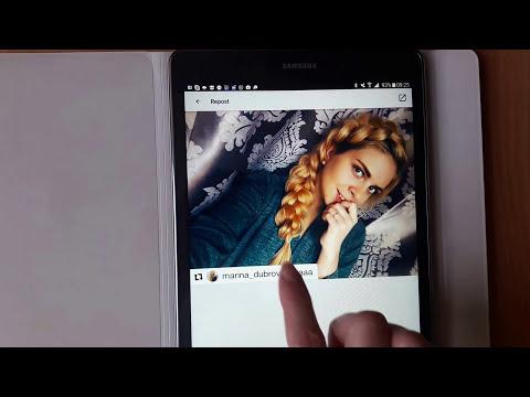 Как сделать репост фото, с чужого аккаунта в свой, в инстаграм?