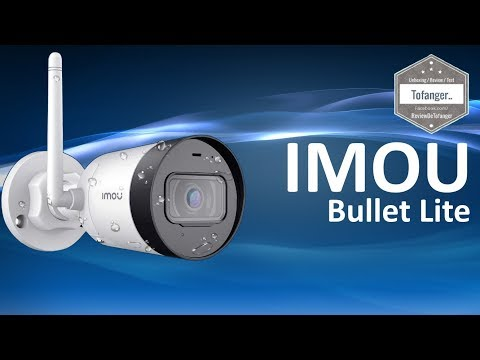 IMOU Bullet Lite - Outdoor Security Camera - 1080P - Night vision - Unboxing