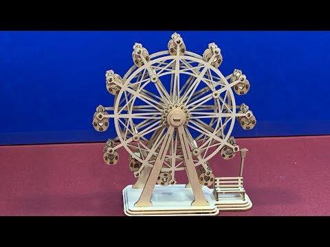 Hands Craft DIY 3D Classical 3D Wooden Puzzle FERRIS WHEEL