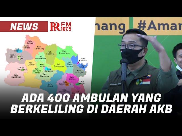 Inilah 15 Daerah di Jawa Barat yang akan Menjalankan Adaptasi Kebiasaan Baru (AKB)