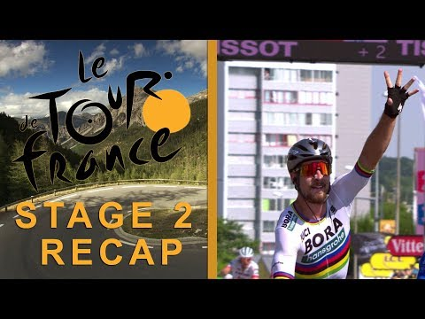 Tour de France 2018: Stage 2 Recap I NBC Sports
