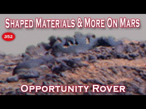 Shaped Metal Or Stone In New Opportunity Rover Panorama?