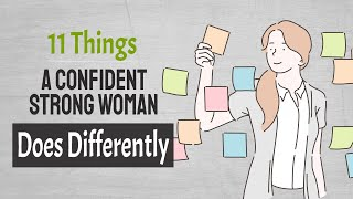 11 Things A Confident Strong Woman Does Differently