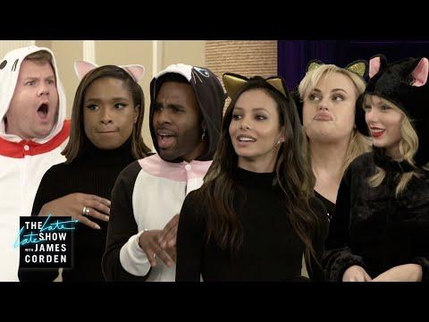 'Cats' School w/ Taylor Swift, Jennifer Hudson, Jason Derulo, Rebel Wilson & Francesca Hayward