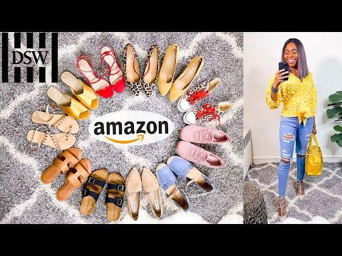 Amazon & DSW Shoe Haul - Best Shoes Under $50 (Summer Must-Haves!)