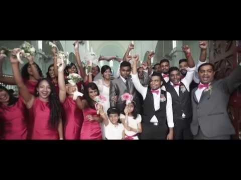 Ashwin & Alma | Malaysia Church Wedding Video Trailer