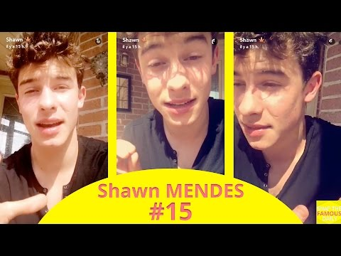 Shawn Mendes ranting about his interview for the Billboard magazine - snapchat - august 25 2016