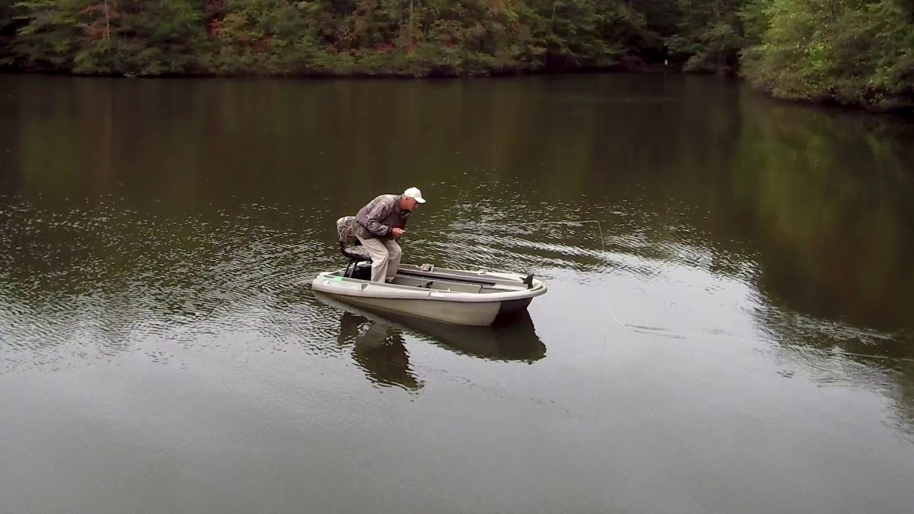 The worlds best 2 man small fishing boat twin troller x10 - Twin Troller X10 Review Testimonial Rick Frost Tennessee Youtube