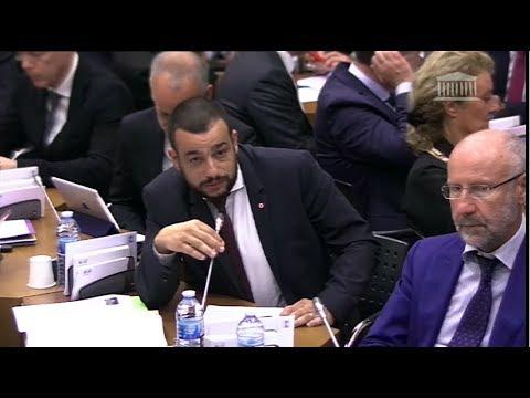 Adrien MORENAS Orateur du Groupe LREM Table ronde sur la politique de l'eau