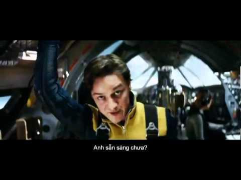 [Vietsub] X-Men: First Class (2011) 2nd International Trailer