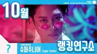 [랭킹연구소] 2018년 10월 보이그룹 순위 (남자아이돌 브랜드) | K-POP IDOL Boy Group Chart (October Brand)