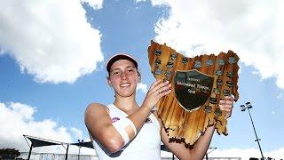 2017 Hobart International Final | Elise Mertens vs Monica Niculescu | WTA Highlights
