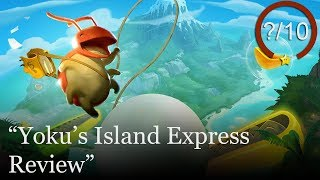 Yoku's Island Express Review (Video Game Video Review)