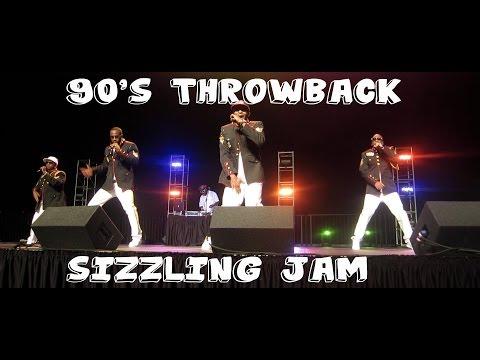 Throwback Sizzling Jam Concert - 112, Silk, Guy, Dru Hill, Shai 90's R&B Concert