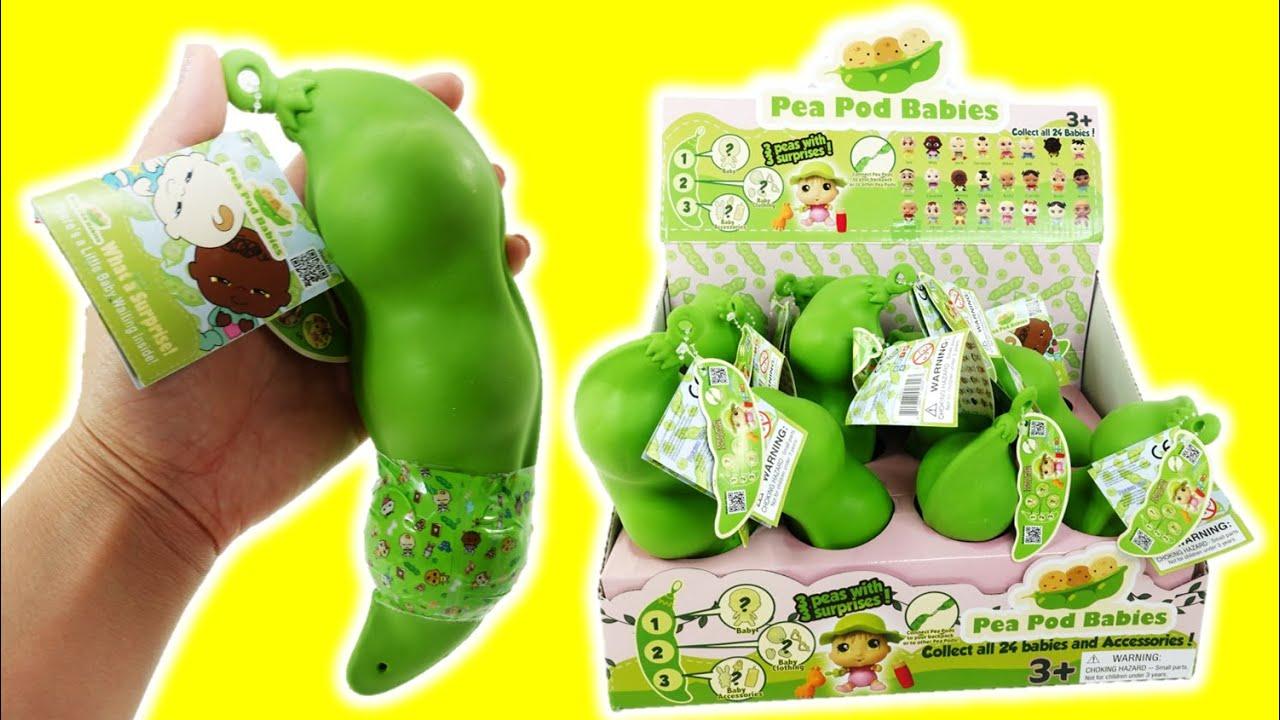 Pea Pod Babies Surprises Toy Unboxing