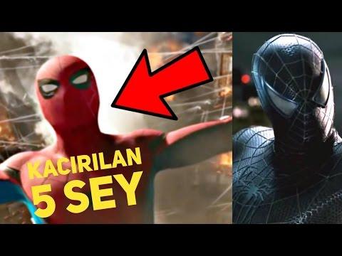 Kaçırdığınız 5 Şey: Spider-Man Homecoming 2 Fragman + Venom