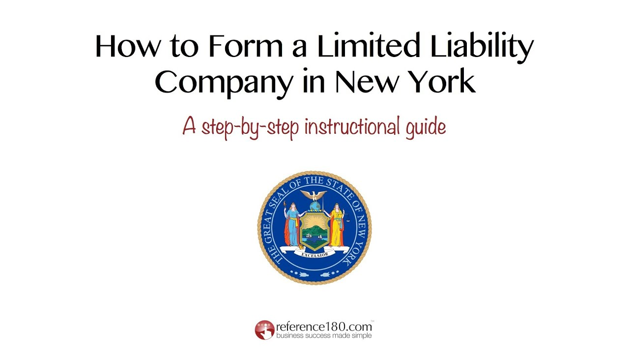 Sample Operating Agreement For  LLC A New York Limited
