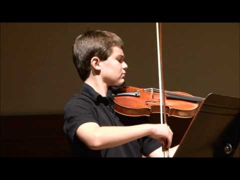 Beethoven Spring Sonata, Mvt 1, by Nathan Meltzer