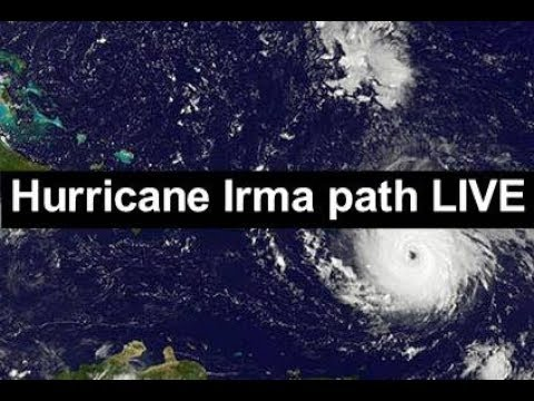 Hurricane Irma path LIVE