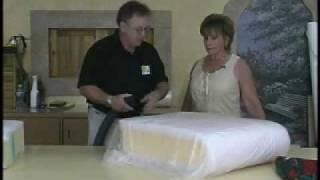 Shrinking Cushion foam!