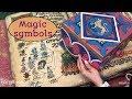 Puzzle with magic symbols. Escape Room Supplier Indestroom