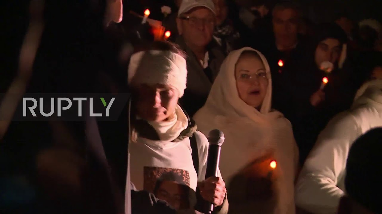 USA: Hundreds hold Lincoln Memorial vigil in memory of man killed by police