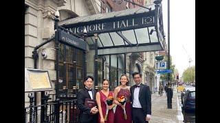 Our Wigmore Hall Debut!