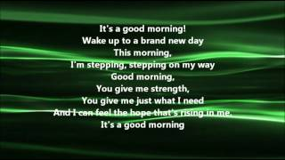 Mandisa - Good Morning (feat TobyMac) (Lyrics)