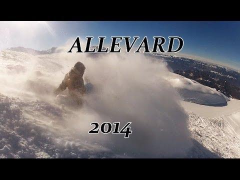GoPro : Snowboarding at ALLEVARD