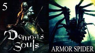 DEMON'S SOULS COMPLETO #5 - MESTRE DE MAGIAS E ARANHA MALUCA ARMOR SPIDER