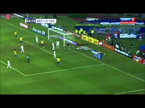Brazil 1-0 Serbia