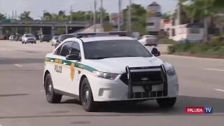 Невероятная погоня за грабителем банков в Майами | Новости Флориды