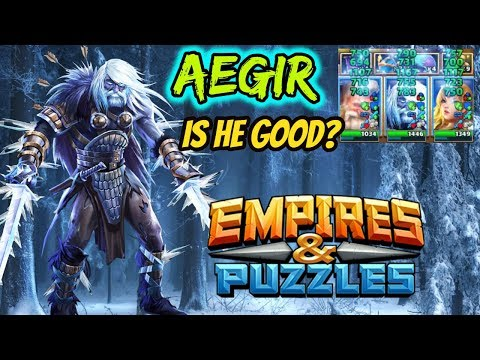 Aegir: Hero Of The Month October 2018 Grade Empires And Puzzles