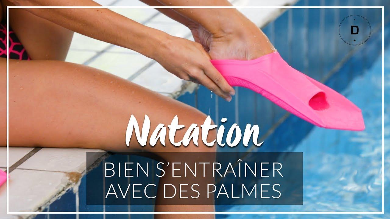 d7d0abec5 Natation   Bien s entraîner avec des palmes - YouTube