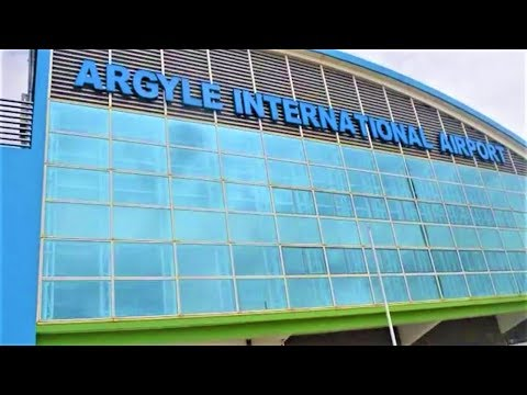 Argyle International Airport in St. Vincent and the Grenadines