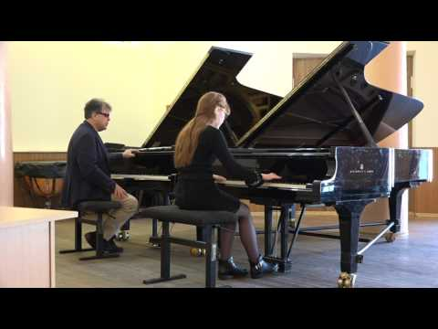 Part 1. Working on 32 variations Beethoven. Conservatory Kharkov
