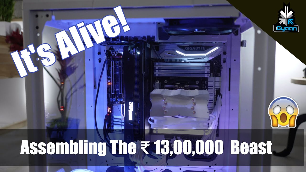 Download It's Alive, Rs. 13 Lakh Beast Gaming PC : First Boot